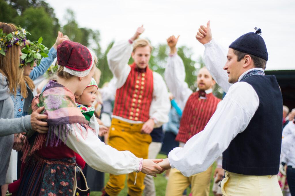 Dancing in Costume